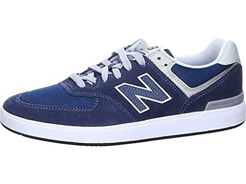 New Balance AM574V1, Zapatos de Skate Hombre, Navy', 45.5 EU