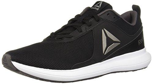 Reebok Women's Driftium Running Shoe, Black/ash Grey/White/Pewter, 7.5 M US
