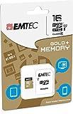 Foto Scheda memoria 16GB per WIKO HIGHWAY STAR 4G–Micro SD classe 10+ Adattatore SD–Emtec