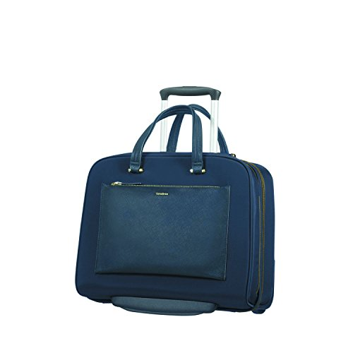 SAMSONITE Rolling Tote 15.6' (Dark Blue) -ZALIA Travel Tote, 0 cm, Blue