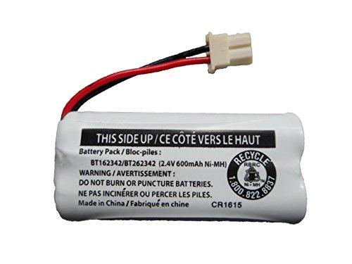 JustGreatDealz Replacement Battery BT162342 / BT262342 for Vtech AT&T Cordless Telephones CS6114 CS6419 CS6719 EL52300 CL80111