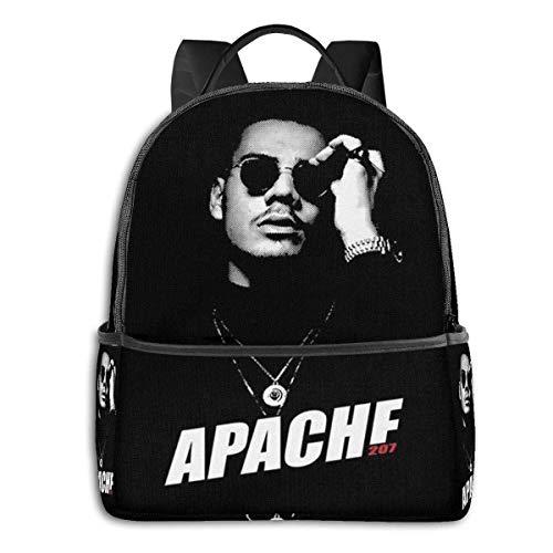 xiameng Apache 207 Merch Rucksack Unisex School Täglicher Rucksack Leichte Freizeitreise Outdoor Camping Daypack