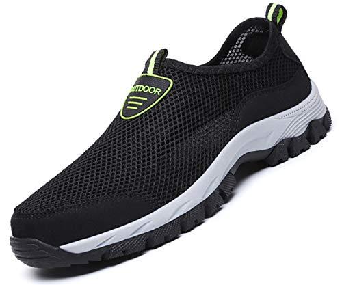 Eagsouni Damen Herren Aquaschuhe Strandschuhe Atmungsaktives Outdoor Hiking Trekking Schuhe Schnell Trocknend Mesh Wasserschuhe Wanderschuhe Turnschuhe Sneakers