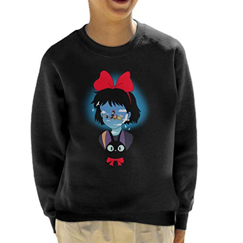 Cloud City 7 Kiki's bezorgservice op bezem kind Sweatshirt