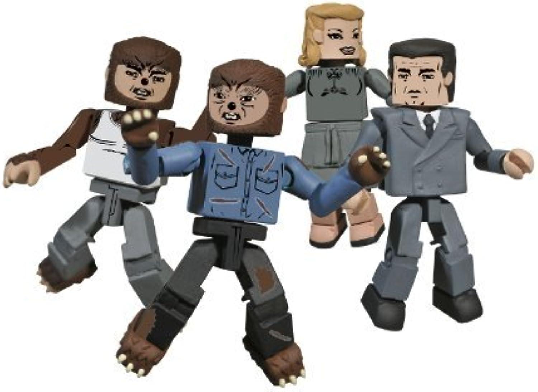 Diamond Select Toys Universal Monsters Minimates  The Wolfman Boxed Set by Diamond Select