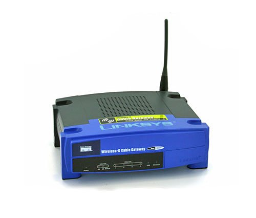 Linksys WCG200-RM Cable Modem with Built-In Wireless-G Router - Refurbished