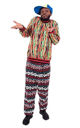 ORION COSTUMES Disfraz de Prncipe de Bel Air Californiano TV de los aos 90 Temtico para Hombres