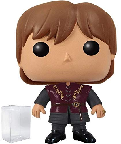Funko Pop! Game of Thrones: GOT - Tyrion Lannister #01 Vinyl Figure (Bundled with Pop Box Protector CASE)