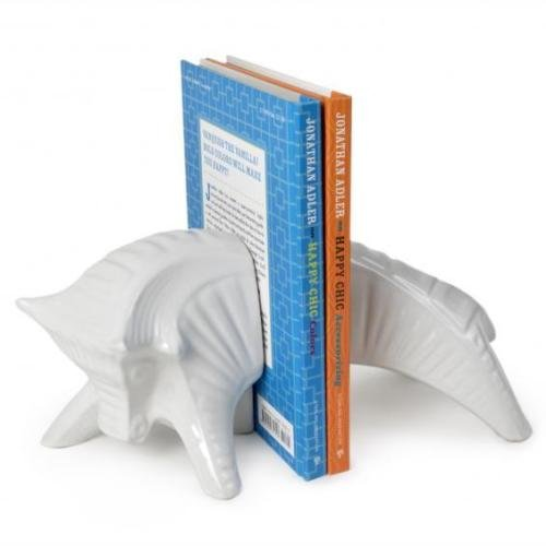Jonathan Adler Raging Bull Bookend Handmade in Peru Out of Production