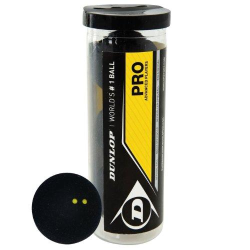 Dunlop Pro: Pelotas de Squash  3 Unidades