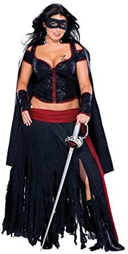 Rubie\'s Lady Zorro?-Kostüm für Damen - S