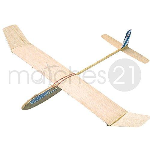 matches21 Kleinsegler 660 mm Bausatz f. Kinder Lehrmittel Werkset Bastelset ab 11 Jahren