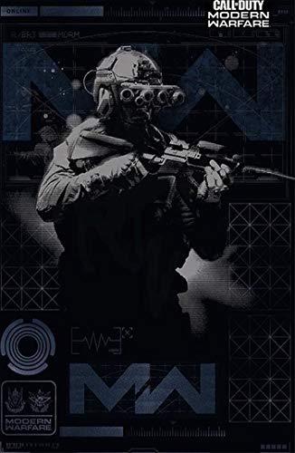 Theissen Call of Duty Modern Warfare – Elite Unisex Poster Multicolour, Paper – Matte Poster Frameless Gift 11 x 17 pulgadas (28 x 43 cm) *IT-00302