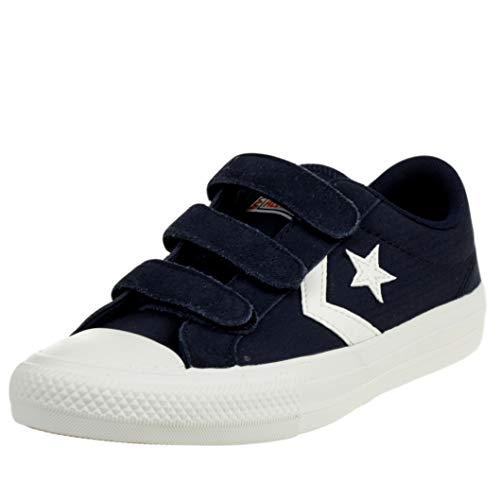 Converse 667547C, Zapatos de Tenis Unisex bebé, Navy, 30 EU