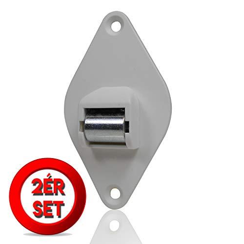 Gurtleitrolle Rolladen Gurtführung Minigurt bis 15 mm Stahlrolle & extra Breiter Korpus 2 Stück