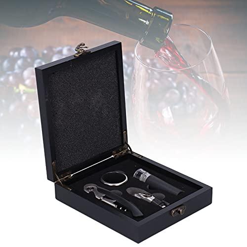 Sacacorchos eléctrico Abridor de botellas de vino, Abridor de botellas de vino Ahorro de mano de obra Fácil de operar Resistente con una caja sellada para hoteles para bares