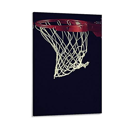 ASDQA Póster de baloncesto decorativo de 40 x 60 cm