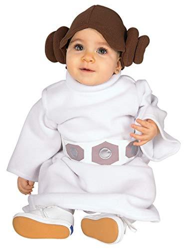 Rubie's Faschingskostüm, Offizielles Disney Prinzessin Leia, für Babymädchen