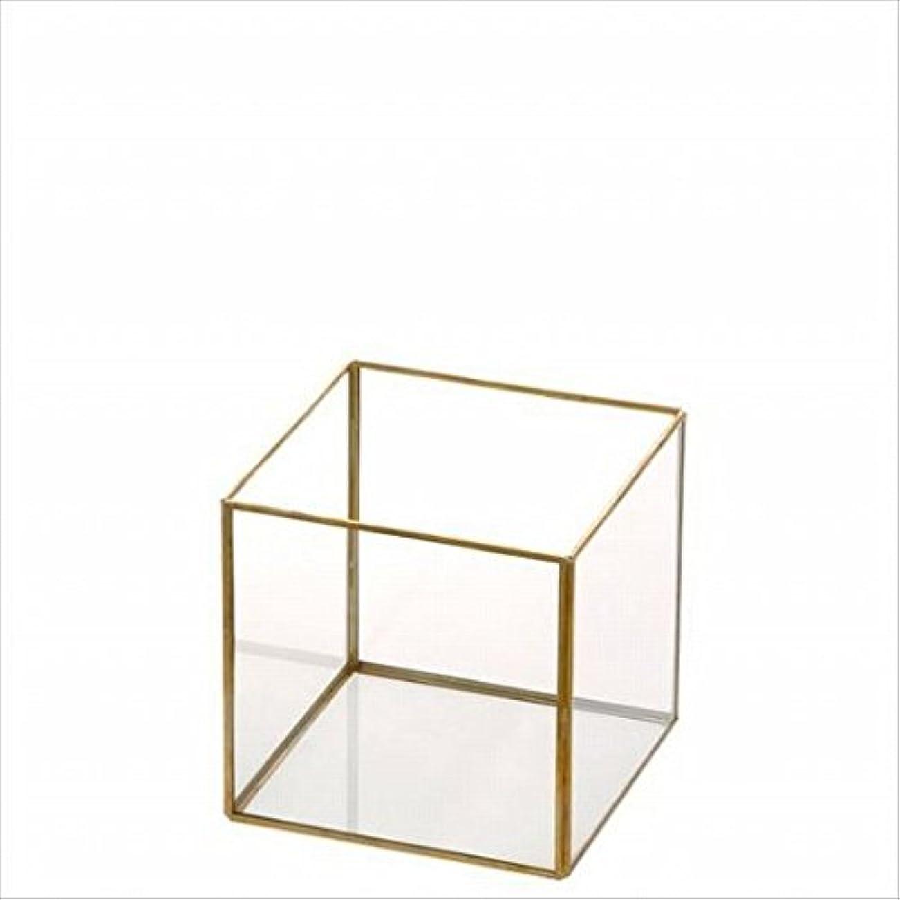 芝生マガジン発表kameyama candle(カメヤマキャンドル) キューブガラスS(J5620010)
