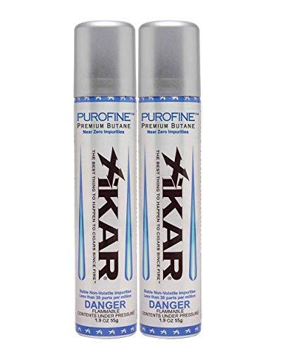 Xikar Premium Butane Fuel Refill for Lighters - 2 Cans