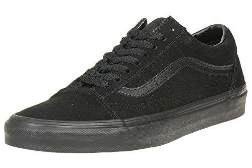 Vans Herren Ua Old Skool Sneakers, Schwarz (Suede Black/Black/Black), 42.5 EU, VA38G1NRI