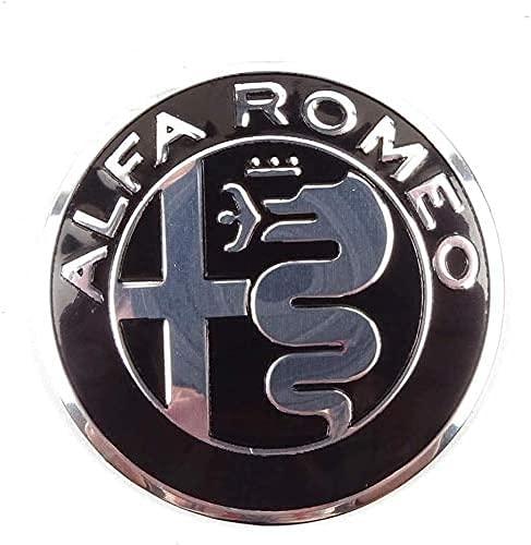 JIEMIANY 4 Tapas De Cubo De Cubierta Central De Rueda De Coche para Alfa Romeo Mito 147 156 159 166 Giulietta Spider 56mm,La Rueda Logo Insignia Coche Accesorios,Accesorios De Estilo