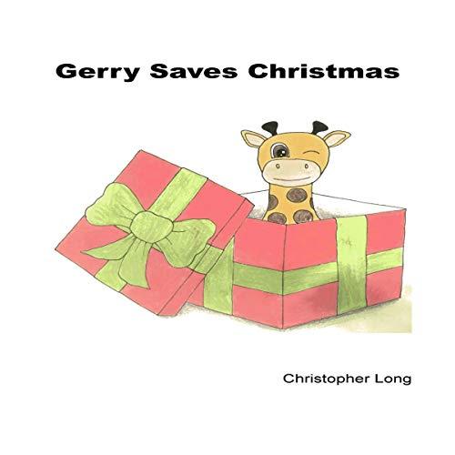 Gerry Saves Christmas audiobook cover art