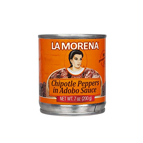 LA MORENA Chiles Chipotles Adobados, 200g