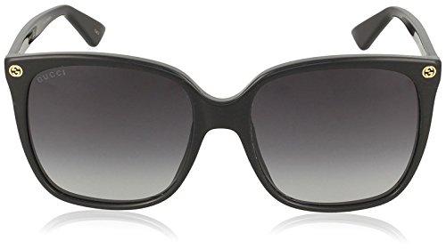 Fashion Shopping Gucci GG0022S Black/Grey One Size
