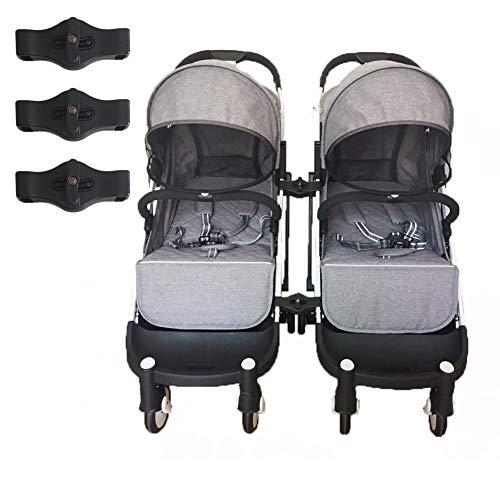 KSTN Juego de 3 acopladores para cochecito de bebé Yoyaplus (negro)