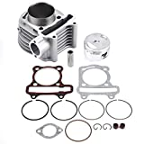 Cylinder Piston Gasket Top End Rebuild For Most GY6 150CC Scooter Engine