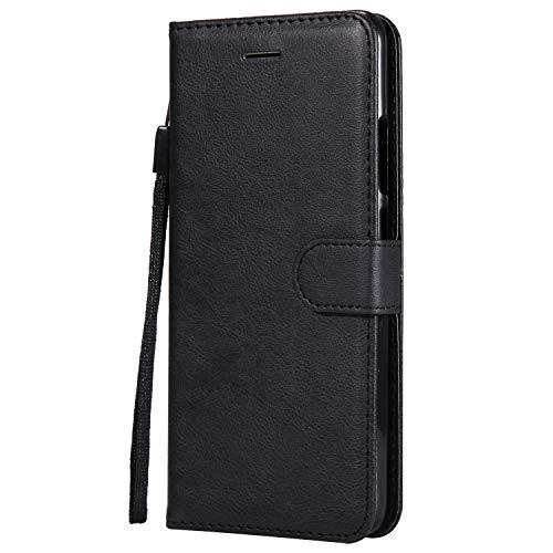 DENDICO Cover Xiaomi Redmi S2, Premium Portafoglio PU Custodia in Pelle, Flip Libro TPU Bumper Caso per Xiaomi Redmi S2 - Nero