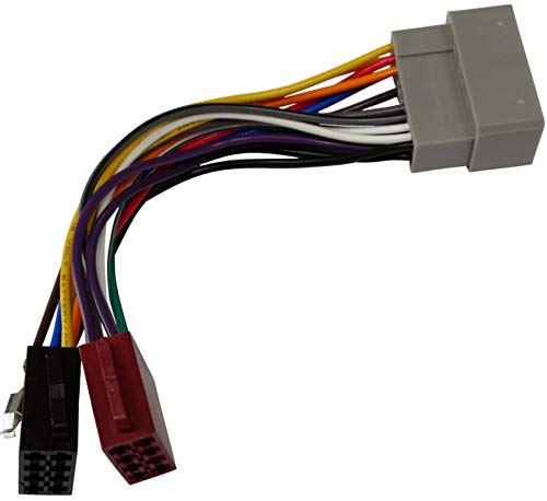 AERZETIX - Cable Adaptador Enchufe ISO E1 - para Auto Radio de Coche - C2032
