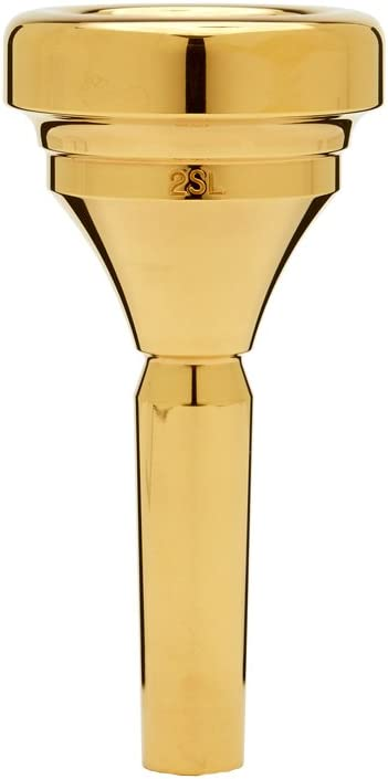 Denis Wick 2SL Gold-plated Tuba Shank Outstanding Large Super intense SALE Mouthpiece