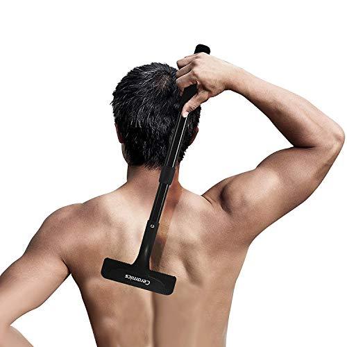 Ceramics Easy-Raze Körperhaar- und Rückenrasierer / Nass Rasierer mit Arm-Verlängerung