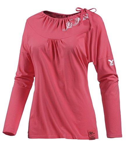 Salewa Grapevine co t-Shirt à Manches Longues pour Femme 36 Rose - Pink rose/0010