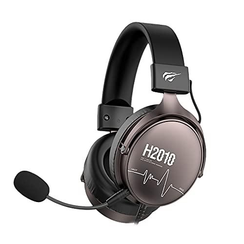 Headphone Fone de Ouvido Havit HV-H2010D, Gamer, com Microfone, Falante 53mm, Plug 3, 5mm: compatível com XBOX ONE e PS4, HAVIT, HV-H2010D