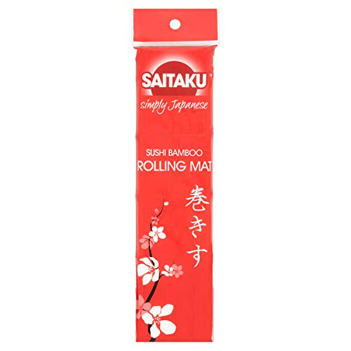 Saitaku Japanse Sushi Bamboe Rolling Mat Roll Sushi Maker Rijst Koken Mat(geval van 20)