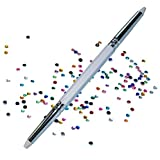 NAILFUN Applicatore di Strass con 2 Punti e 100 Pietre Strass