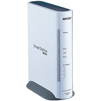 BUFFALO 有線ブロードバンドルータ BroadStation リモートアクセスモデル BHR-4RV