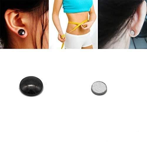 Soulitem 1/4/6/10 Paar Ohrringe, Bio-magnetisch, zum Abnehmen von Gewichtsverlust, stimulierend, Akupressur, 10pair