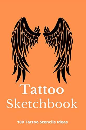 Tattoo Sketchbook: 100 Tattoo Stencils Ideas: Ozer Tattoo Sketchbook (English Edition)