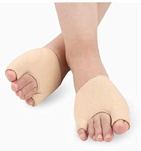 HAOKTSB For alisadores del Dedo del pie, Corrector de apoyos de la Ayuda del Dedo del pie for Las Mujeres de los Hombres Thumb valgus Corrector