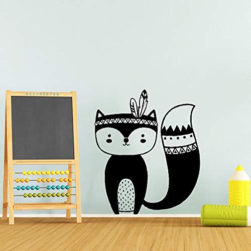 yaofale PVC-Pegatinas de Pared-Mural de la Etiqueta engomada del Arte de la Pared del Personaje Divertido, Adecuado para la habitación de los niños, decoración Impermeable del Arte de la Pared