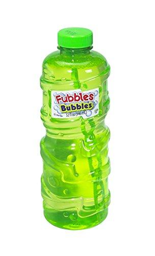 Little Kids Fubbles Premium Long Lasting Bubble Solution, 32 oz