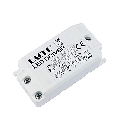 EACLL LED Trafo AC 240V zu DC 12V 850mA 10W Transformatoren Für drive Weniger als 10W MR11 G4 MR16 GU5.3 LED Birnen LED Lichtstreifen Transformator, LED Lampen Adapter Treiber Netzteil, 2 Stück