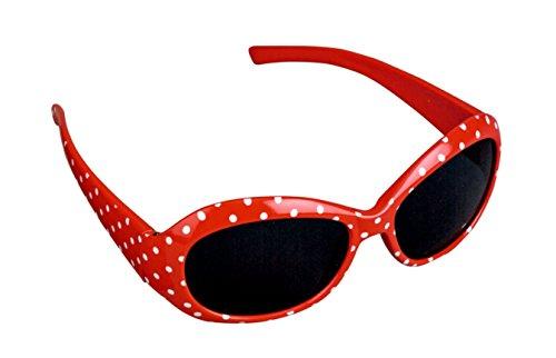Die Spiegelburg Die Spiegelburg Kinder Sonnenbrille 100% UV-Schutz Sommer Accessoire Rot Weiß