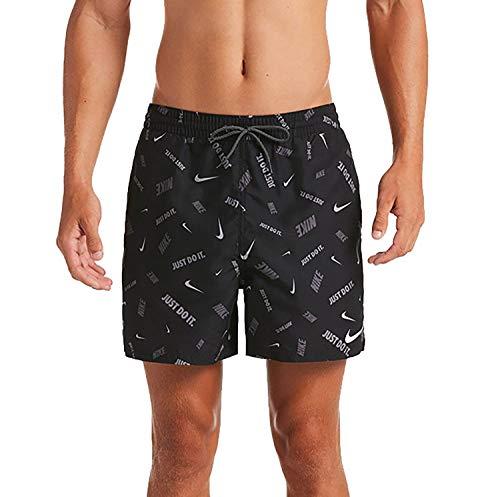 Nike 5 Volley-Shorts für Herren M Schwarz