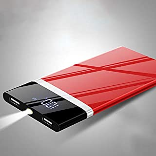 Power Bank 50000mAh 2019 New Portable External Battery Huge Capacity Charger (Red)