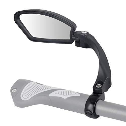 Fahrrad Rückspiegel, Lenker-Fahrradspiegel, HD, schlagfest, Glaslinse, Verstellbar, 360° Drehungsüberprüfung, für Fahrzeugqualität, Fahrradspiegel SPY Space (Left)